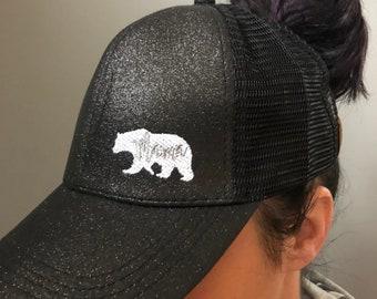31f52c18c4f Mama Bear Ponytail Baseball Hat