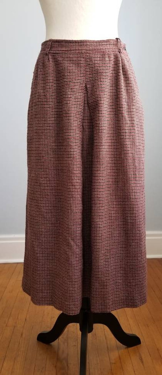 Maxi Skirt, Pleated Skirt, Pencil Skirt, Plaid, W… - image 1