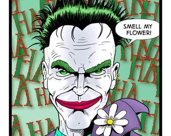 The Joker - A4 print