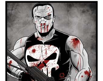 The Punisher - A3 Print