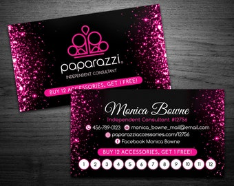 Paparazzi business cards etsy reheart