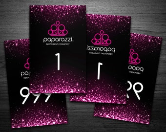 Paparazzi numbers | Paparazzi Numbers Cards | Normal + Mirrored 1-1000 | live sale numbers | number tags | Read description before buying