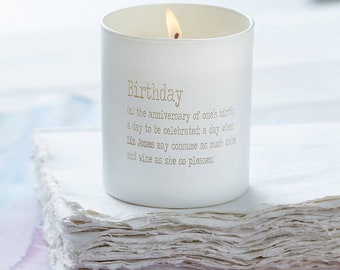 personalised candles etsy