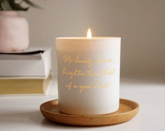 personalized candles etsy
