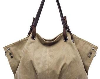 High Quality Canvas Shoulder Bag.