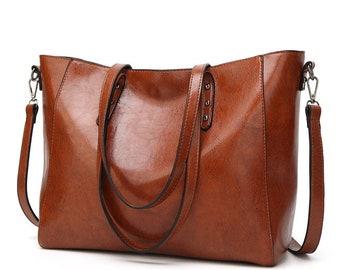 Women's Deluxe Shoulder Bag Tote