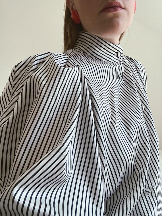 Vintage blouse 1980s - image 4