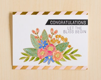 Greeting Card | Handmade Card | Wedding Handmade Card