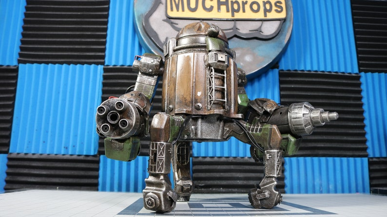 Custom Mech out of Junk and Waterguns