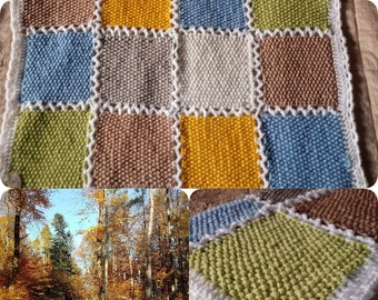 The beauty of the forest- crochet dog blanket/mat- handmade puppy blanket- crochet doggy mat- crochet puppy blanket