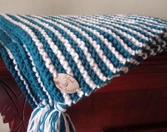 Pet Knitting Blanket Cat blanket Pet Blanket blanketHandmade pet blanket Puppy blanket  Puppy blanket Knitting stripes mat bunny mat blanket