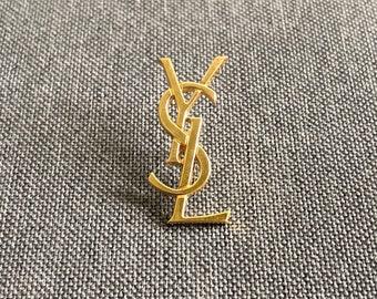 c7f93541f66 GENUINE Vintage YSL - Yves Saint Laurent - Pin Brooch