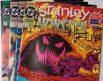 DC Stanley and his Monsters, Issues 1, 2, 3 & 4
