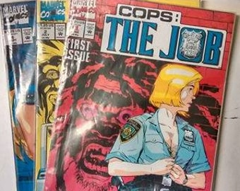 Marvel Comics Cops: The Job Issue 1, 2 & 4