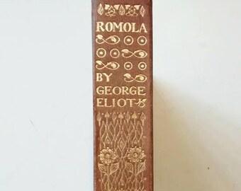 Romola by George Eliot 1909