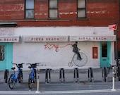 Pizza Beach Graffiti Print - New York City Photography
