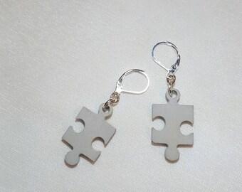 Jewellery-Earrings Pendant puzzle Concrete