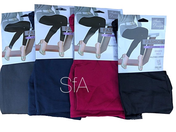 Fleece lined leggings, must have for seasons. In 5 different colours size 10-16 U.K.