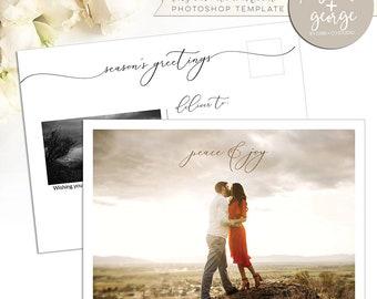 postcard template etsy