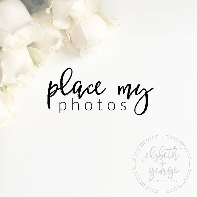 Place my photo, Photoshop insert photo help, photo placement, single,  multiple, print ready file jpeg pdf, ready to upload, Elsbeth + George
