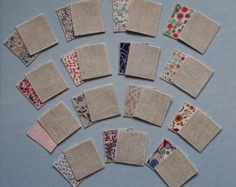 Fabric - 15 pairs Memory game