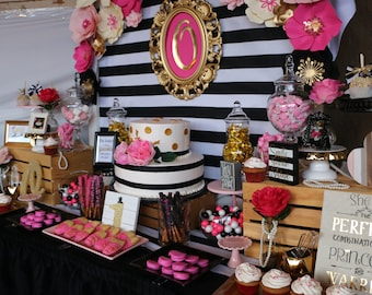 kate spade candy table