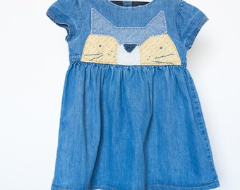 Darling Denim Girl's Dress