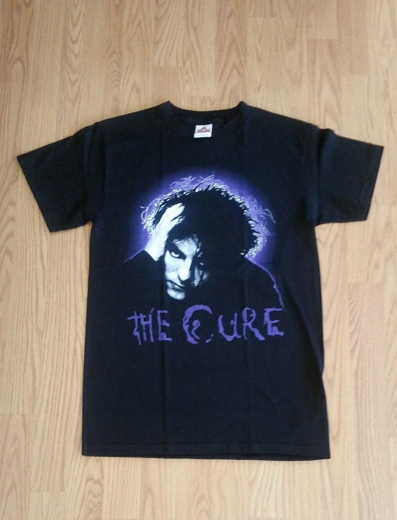 2e97acbd THE CURE Purple Letters Black Unisex Adult Tshirt S | Etsy