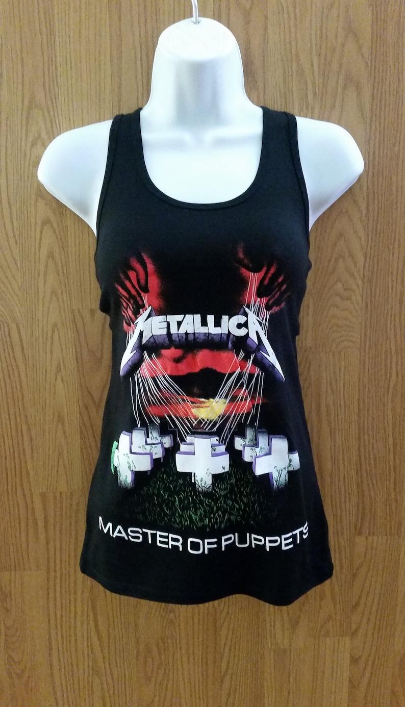 296ca9fc00ab7 METALLICA-Master of Puppets-Black WOMEN S Tank Top shirt