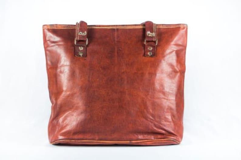 Hippie bag Handmade leather bag zippered carry all Leather Tote bag Boho Bag handmade women bag shopper bag small large shoulder bag