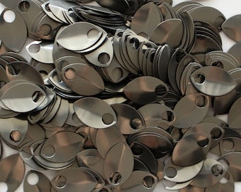 50 Premium Anodized Aluminum Scales - Custom Anodized Scales - Chainmail Supplies - Scalemail supplies