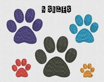 773f5c8fabd2 Embroidery design Paw Print Machine Embroidery Dog Paw Design Embroidery  Animal Paw Machine Embroidery Small Paw print Pattern INSTANT DOWNL