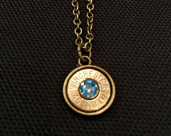 Bullet Charm Necklace