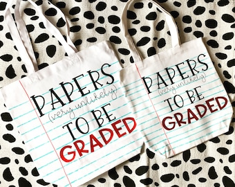 Small Papers (very unlikely) to be Graded tote