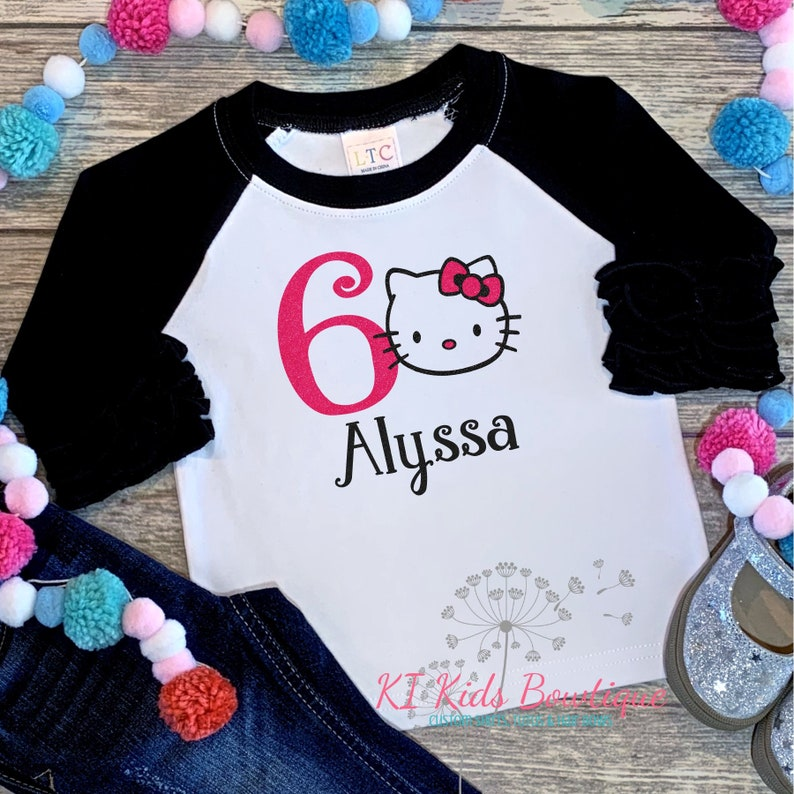 Hello Kitty Birthday Shirt Sixth
