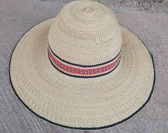 079b941c0ba85c Beach hat   Straw hat   Sun hat   Straw hat for women   Yellow hat    Farmers hat   Vintage hat   Women hat   Dad hat  Summer hat African hat