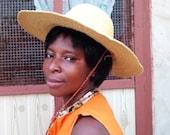 Beach hat Floppy hat Mens hat Straw hat for women Sun hat Vintage hat Farmer hat Dad hat Hat and scarf Women hat African hat