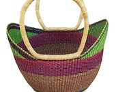 Small storage Basket Bolga Basket Baby gift basket Bolga market basket Straw bag Market basket African Basket