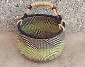 Storage basket African basket Straw basket Woven basket Gift basket African market basket handmade basket Market Basket Basket