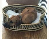 Pet bed Large dog bed Small dog bed Comfortable dog bed Classic dog bed Pet furniture Pat bed and Cots Dog Basket Bolga bask