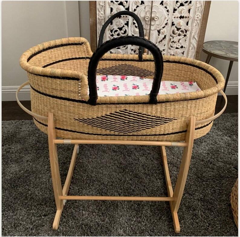 Moses basket  Baby bassinet Baby nest  Baby Moses basket  image 0