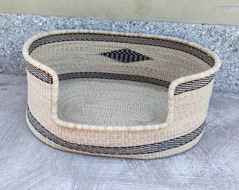 Dog Bed Furniture | Dog Basket | Personalized Dog Bed | Puppy Bed | Dog Lover Gift | Ghana Basket
