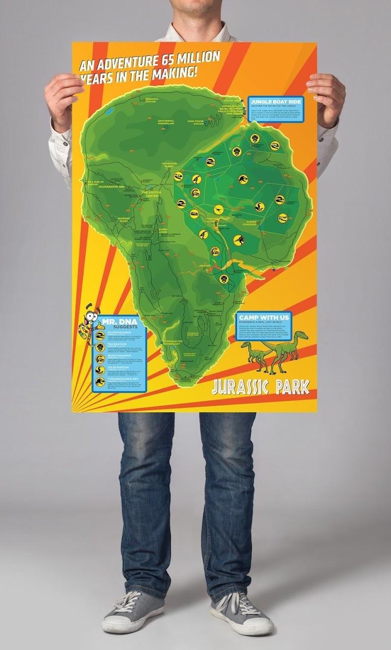Juric Park | Isla Nublar | Map | Geek Decor on azores map, nauru map, isla sorna dinosaur map, antigua map, greenland map, isla pena, guyana map,