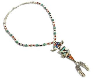 Fertility Cuff \u2022  7 \u2022  Vtg Navajo Sterling Kokopelli Bracelet \u2022 Signed Robert Becenti Jr.