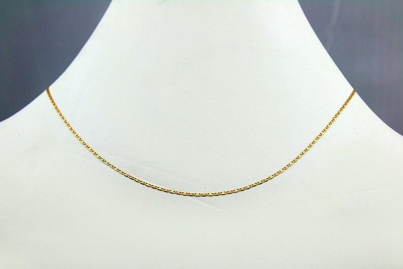 703e497949e7 Cadena de Oro Solido en 10k Tricolor Diseno Diamantado