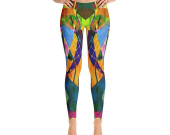 My Tux Abstract Art  Leggings for fashion, workout, yoga ,woman's