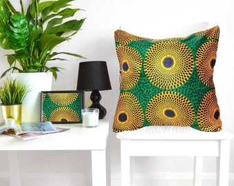African print pillow | Etsy