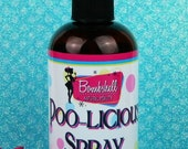 Poo Licious Poo-Spray Scented with Essential Oil or Fragrance