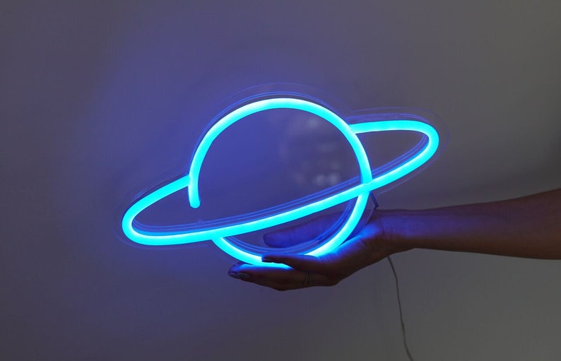 Planet LED Neon Sign