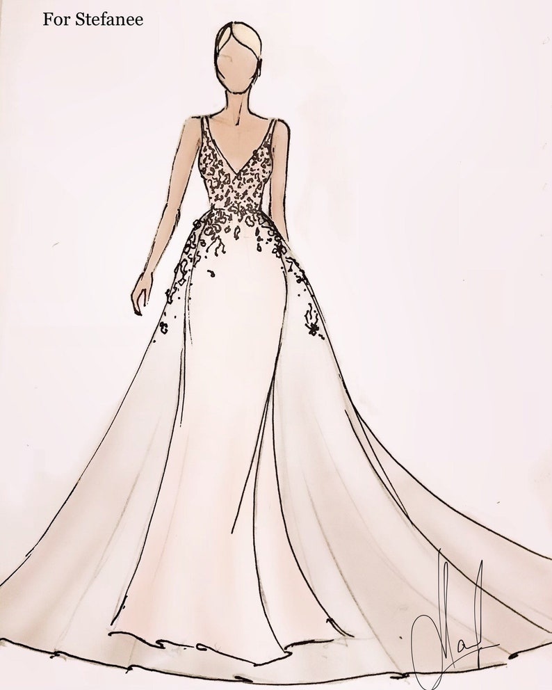 Image 0: Fashion Sketches Italian Wedding Dresses At Websimilar.org